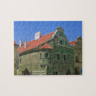 Old town square surrounded by 16th-century 2 jigsaw puzzle
