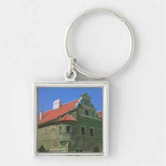 Old town square surrounded by 16th-century 2 keychain