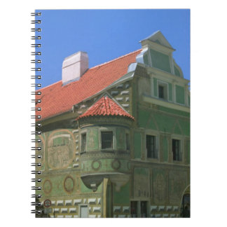 Old town square surrounded by 16th-century 2 notebook