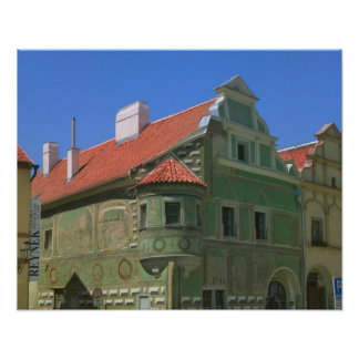 Old town square surrounded by 16th-century 2 poster