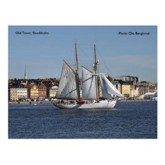 Old Town, Stockholm, Photo Ola ... Postcard