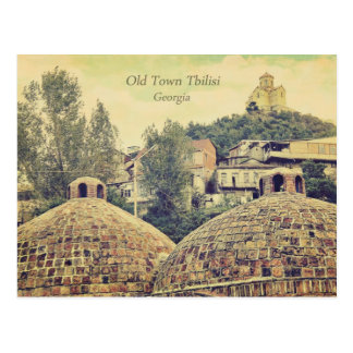 Old Town Tbilisi, Georgia - postcard