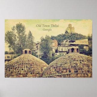 Old Town Tbilisi, Georgia - poster