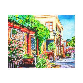 Old Town Temecula Ca. Canvas Print