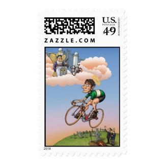 """Old Trackies Don't Die"" Postage Stamps"