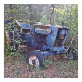 Old Tractor 6x6 Wall Art