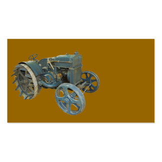old tractor business card templates