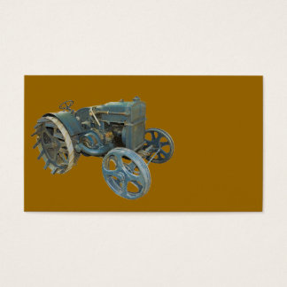 old tractor business card
