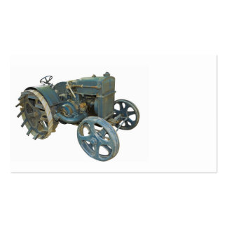 old tractor business card template