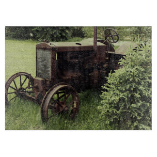 OLD TRaCTOR Cutting Board