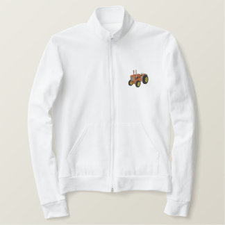 Old Tractor Embroidered Jacket