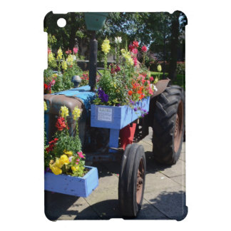 Old Tractor Floral Display iPad Mini Covers