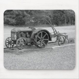 Old Tractor From The Past Mouse Pad