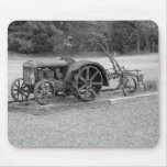 Old Tractor From The Past Mousepad