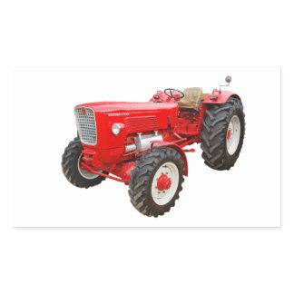 Old tractor Güldner G 75 AS Rectangular Sticker