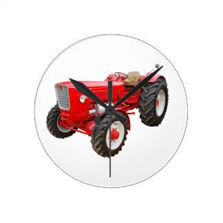 Old tractor Güldner G 75 AS Round Clock