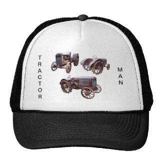 OLD TRACTOR-HAT TRUCKER HAT