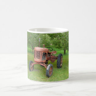 Old Tractor in the Orchard Coffee Mug
