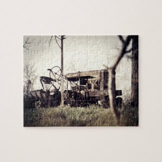 Old Tractor Jigsaw Puzzle