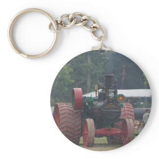 Old Tractor Keychain