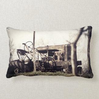 Old Tractor Lumbar Pillow