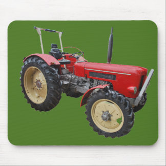 Old tractor mouse pad