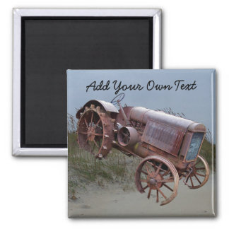 OLD TRACTOR ON DUNE- -MAGNET MAGNET
