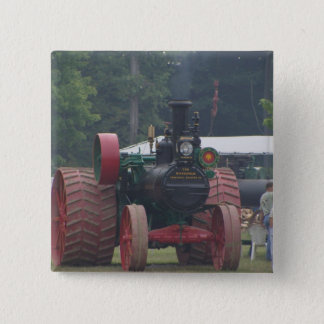 Old Tractor Pinback Button