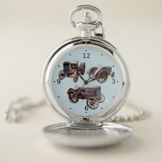 OLD TRACTOR POCKET WATCH
