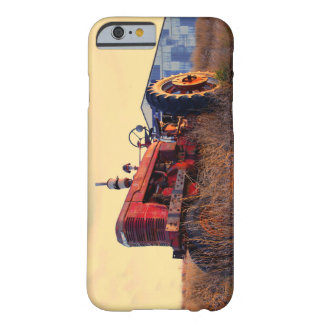 old tractor red machine vintage barely there iPhone 6 case