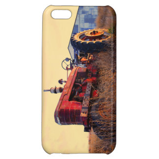 old tractor red machine vintage case for iPhone 5C