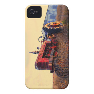 old tractor red machine vintage Case-Mate iPhone 4 case