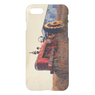 old tractor red machine vintage iPhone 8/7 case