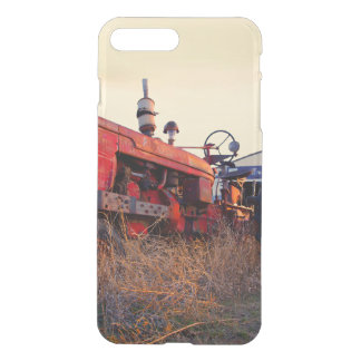 old tractor red machine vintage iPhone 8 plus/7 plus case