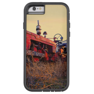 old tractor red machine vintage tough xtreme iPhone 6 case