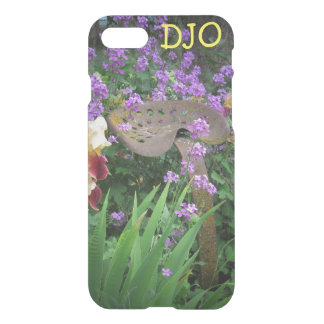 Old Tractor Seat, Flowers and your Initials iPhone 8/7 Case