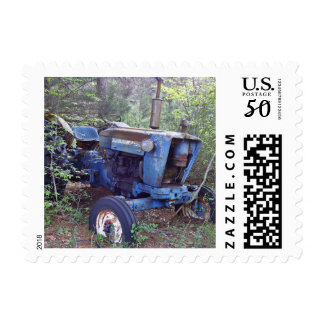 Old Tractor US Postage Stamps
