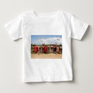 Old tractors farm machinery Australia Baby T-Shirt