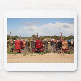 Old tractors farm machinery Australia Mouse Pad