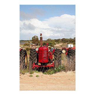 Old tractors farm machinery Australia Stationery