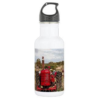Old tractors farm machinery Australia Water Bottle