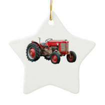 Old Tractors Ornament