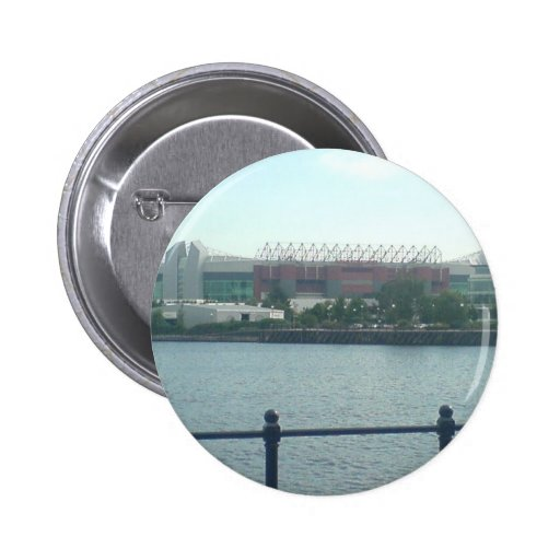 Old Trafford Theatre Of Dreams. Home Of Manchester Pinback Button