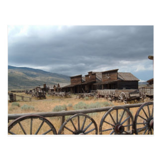 Old Trail Town, Cody, Wyoming Postcard