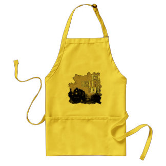OLD TRAIN ADULT APRON
