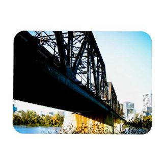 Old train Bridge 01 Premium Flexi Magnet