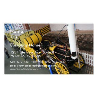 Old Train Double-Sided Standard Business Cards (Pack Of 100)