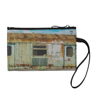 Old train coin purse