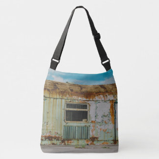 Old train crossbody bag