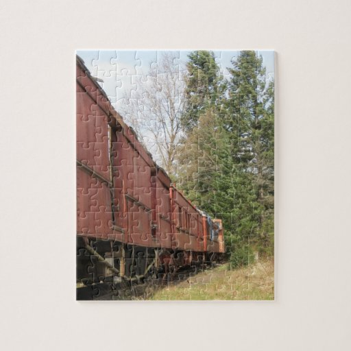 Old Train Jigsaw Puzzles